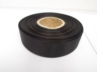 Black Grosgrain ribbon Ribbed Double sided, 3mm, 6mm 10mm 16mm 22mm 38mm 50mm